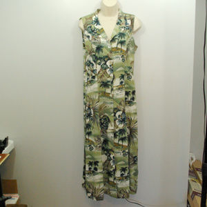 Teddi Floral Button Summer Dress W43
